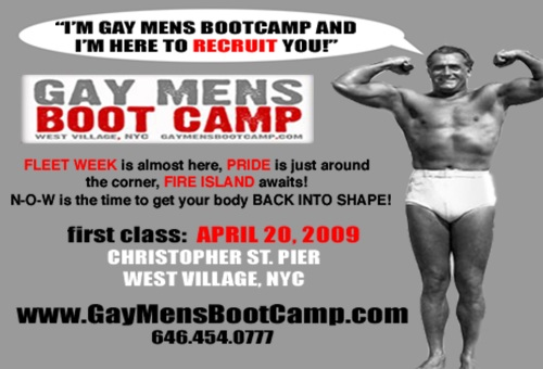 Gay Mens Boot Camp in NYC