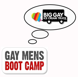 Calories burned per class of GAY BOOT CAMP: 800